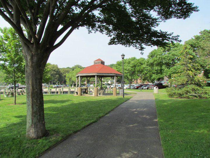 Cow Harbor Park Gazebo In Northport NY