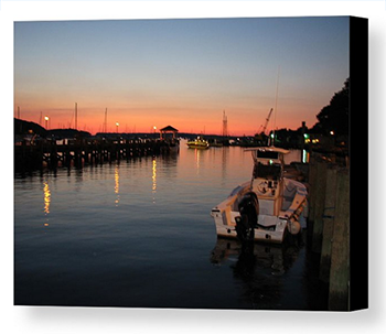 Canvas Print - Northport at Dusk