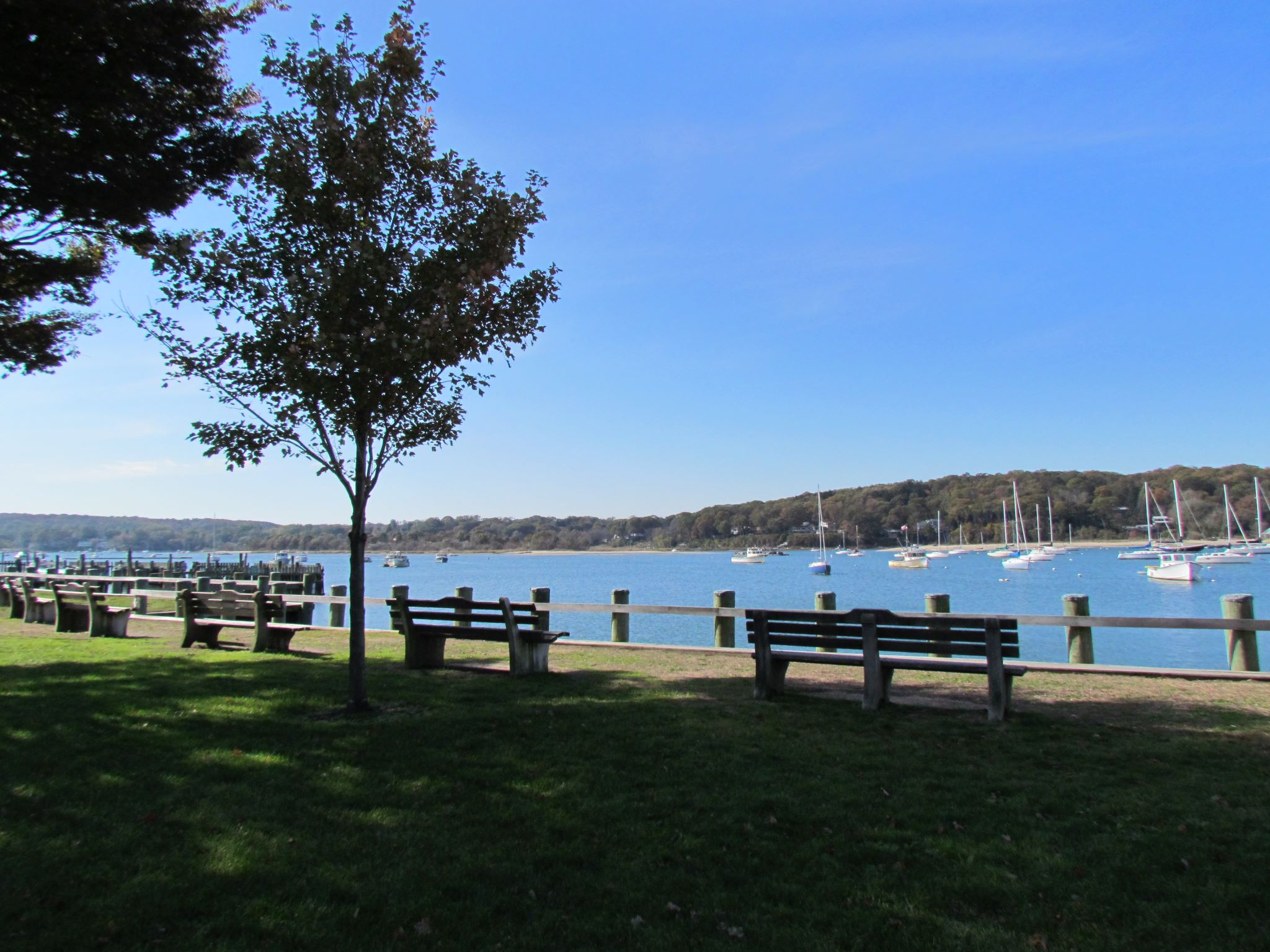 Waiting For Summertime In Northport NY