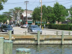 Looking Up Main St From The Harbor